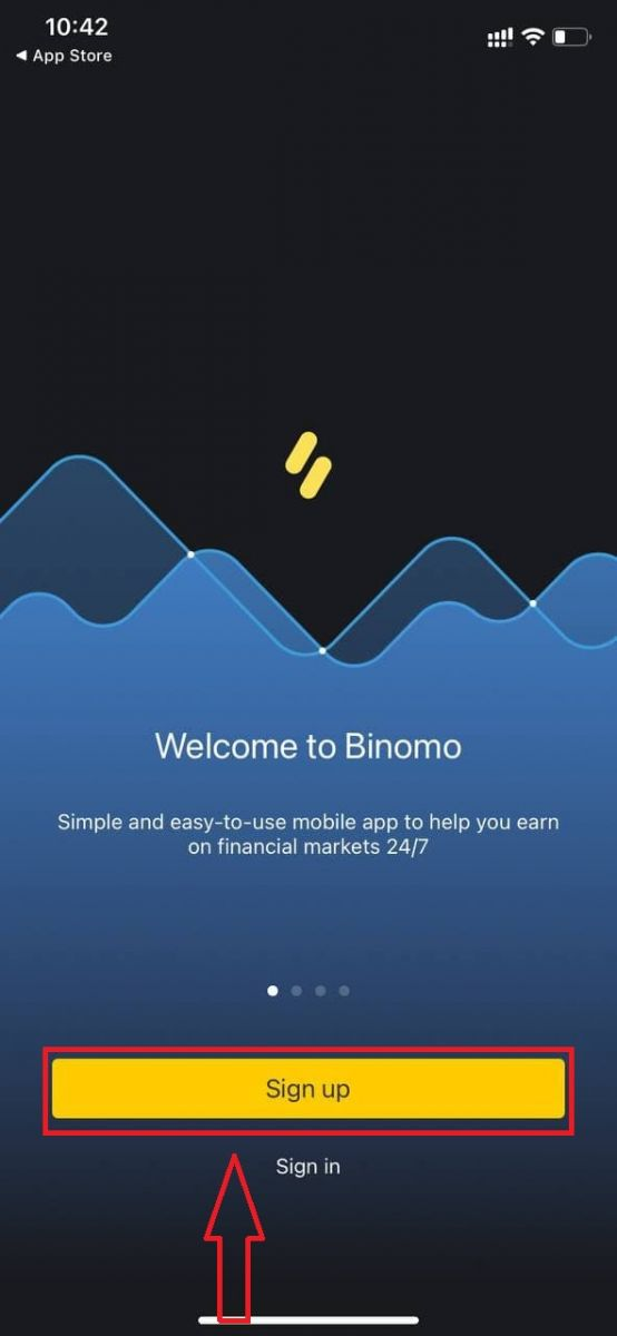 How to Create an Account and Register with Binomo