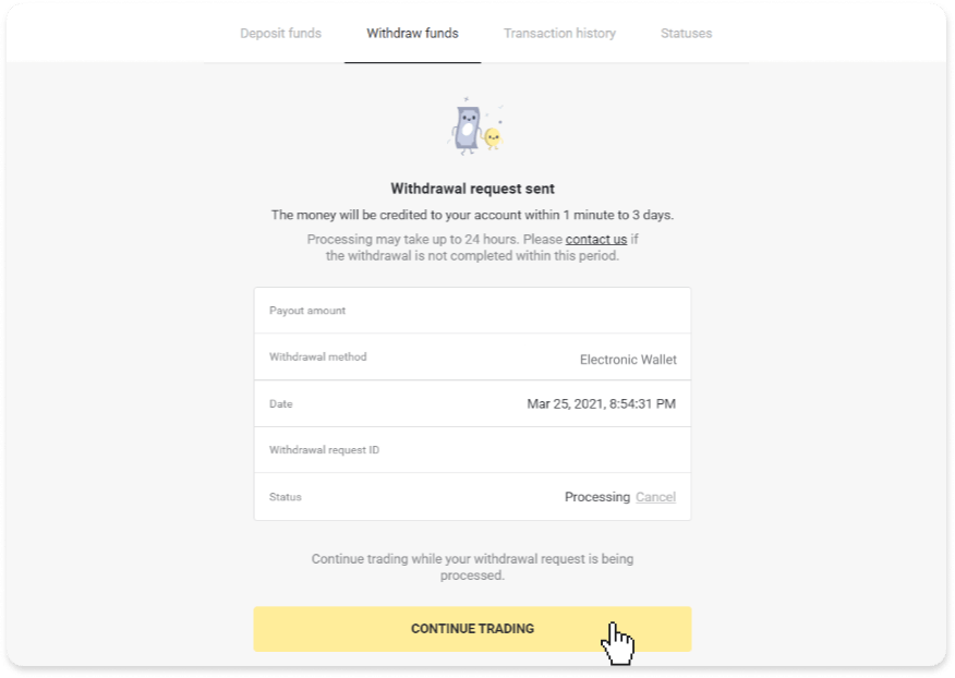How to Trade and Withdraw Funds from Binomo