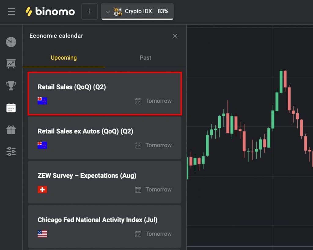 How To Trade The News in Binomo